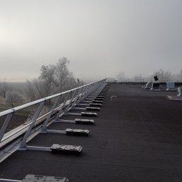 Ballast 2500 Dachgeländer ohne Dachdurchdringung mit Auflast Selbsttragend