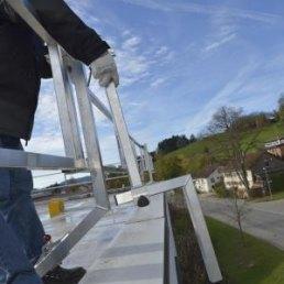 Dach Absturzsicherungen für Attika Flachdach