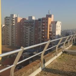 Dachgeländer FACFIX II Innenattika aus Beton