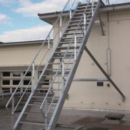 Dachtreppe Aluminium