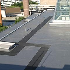 Gehwegrolle Schutzmatte Flachdach Floorline