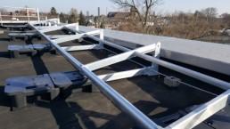 Klappbares Dachgeländer