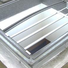 Schutzgitter Lichtkuppeln Dach