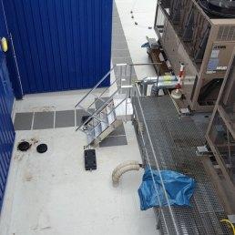 Treppenleiter Flachdach