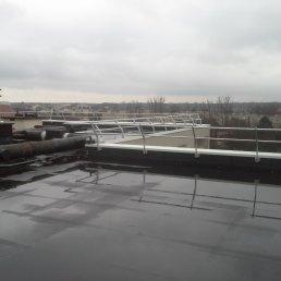 ZEDFIX II Dachgeländer unter Mauerabdeckung